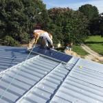 Enjoying Some Home Made Solar Energy